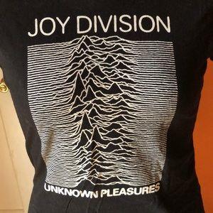 Joy division unknown pleasures short sleeve top